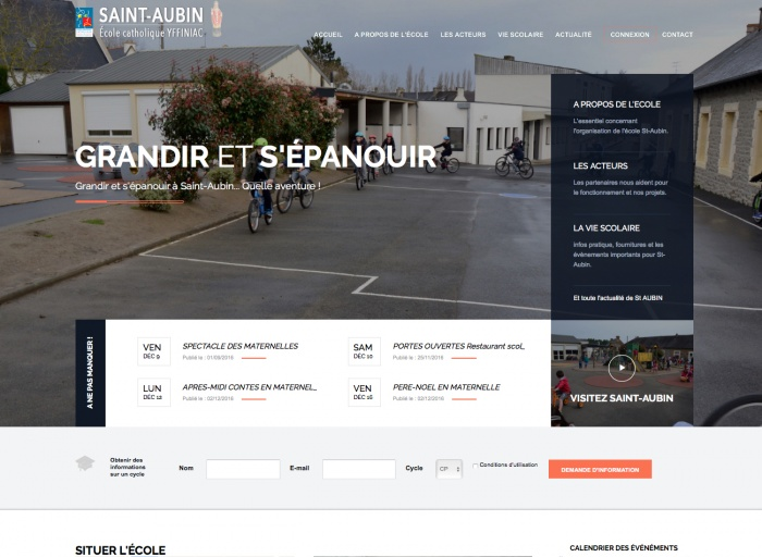 Ecole Saint-Aubin d'Yffiniac